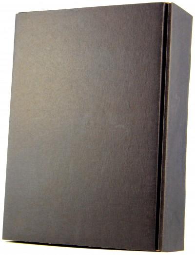 Wein Direktimport - Präsentkarton für drei Flaschen, schwarz