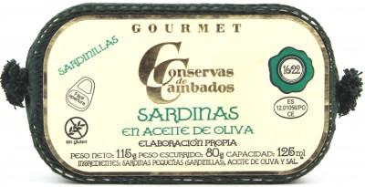 Conservas de Cambados - Sardellen 16/22 in Olivenöl 115 g