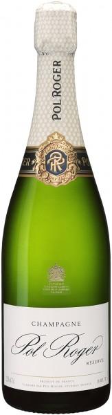 Champagne Pol Roger - Champagne Brut Réserve Blanc 'white foil' Magnum