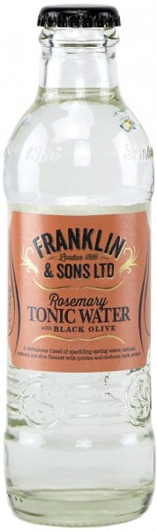Franklin & Sons - Rosemary & Black Olive Tonic Water