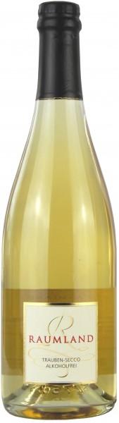 Sekthaus Raumland - Weißer Trauben Secco, ohne Alkohol