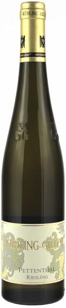Weingut Kühling-Gillot, Bioweingut - 2016 Riesling trocken Pettenthal GG
