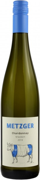 Weingut Metzger - 2018 Chardonnay trocken -B-