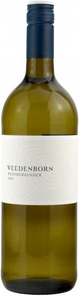 Weingut Weedenborn - 2018 Weissburgunder trocken Literflasche