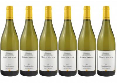 Wein Direktimport Probierpaket  - Frei Haus! 6er Pack 2017 Pinot Blanc Markus Molitor