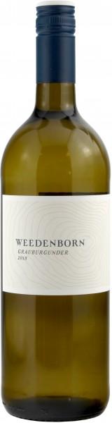 Weingut Weedenborn - 2018 Grauburgunder trocken Liter