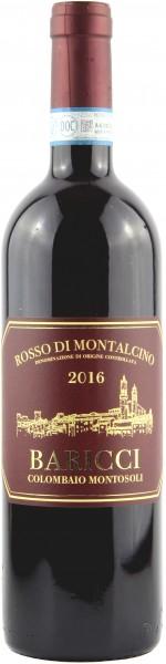 Baricci Colombaio Montosoli S. S. - 2016 Rosso di Montalcino