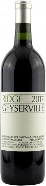 Ridge Vineyards - 2017 Geyserville