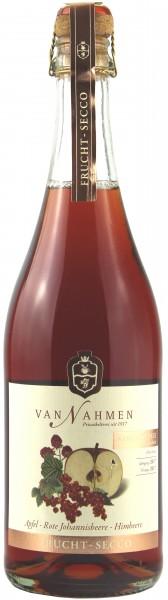 Obstkelterei Van Nahmen - Fruchtsecco Apfel-Rote Johannisbeere-Himbeere, ohne Alkohol