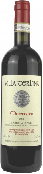 "Villa Terlina - 2010 Barbera d'Asti ""Monsicuro"""