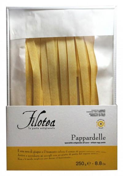 Filotea Pappardelle 250 G La Pasta Artigianale Eierteignudeln