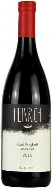 Weingut Gernot & Heike Heinrich, Bioweingut - 2015 Blaufränkisch Rosé Freyheit