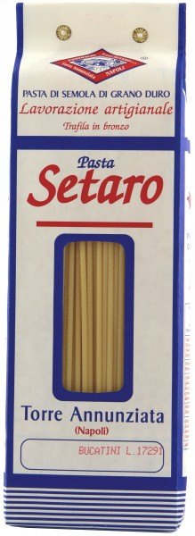 Pastificio Fratelli Setaro - Pasta Bucatini 1 kg