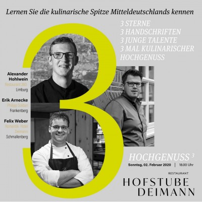 Wein Direktimport - 2. Februar 2020 Hochgenuß ³