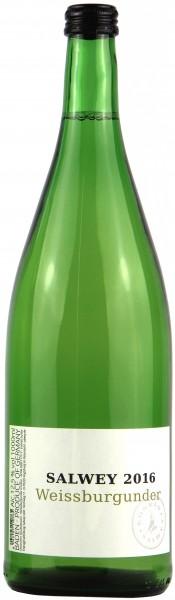 Weingut Salwey, Baden - 2016 Weissburgunder trocken Literflasche
