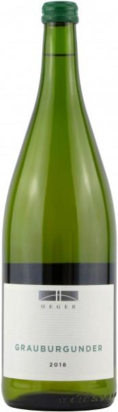 Weinhaus Heger - 2018 Grauburgunder Liter