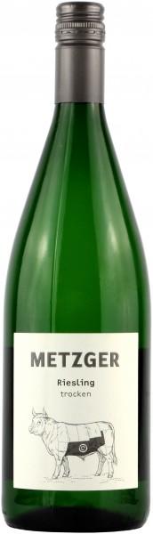 Weingut Metzger - 2019 Riesling trocken -C- Liter