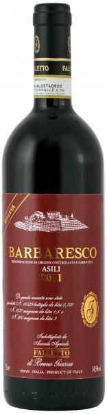 Az. Agr. Falletto, Bruno Giacosa - 2011 Barbaresco DOCG Riserva Asili di Barbaresco rotes Label