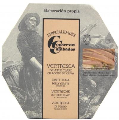 Conservas de Cambados - Bauchfilet vom hellen Thunfisch in Olivenöl, 500 g