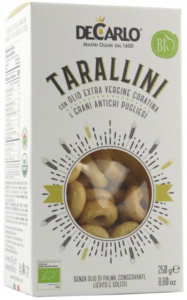 Az. Agr. De Carlo - Tarallini de Carlo im Karton 250 g
