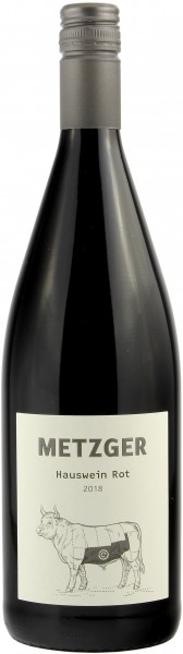 Weingut Metzger - 2018 Hauswein Rot Literflasche