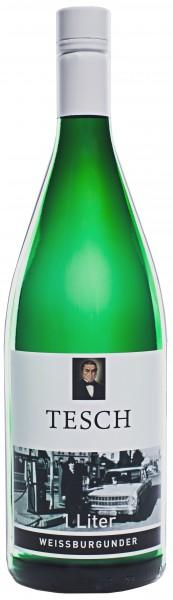 Weingut Tesch - 2016 Weissburgunder trocken Literflasche