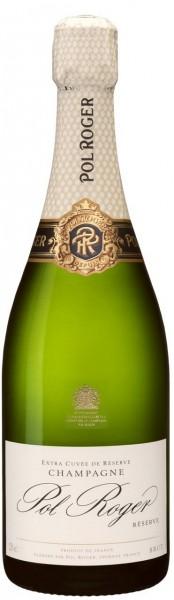 Champagne Pol Roger - Champagne Brut Réserve Blanc 'white foil' 375 ml