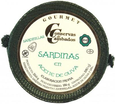 Conservas de Cambados - Sardellen 30/40 in Olivenöl, 266 g