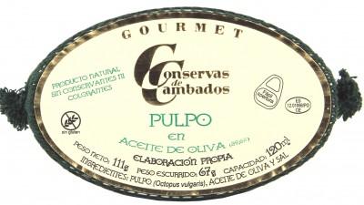 Conservas de Cambados - Octopus aus den Rias Gallegas, in Olivenöl, 111 g