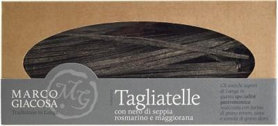 Pasta Marco Giacosa - Tagliatelle mit Sepia, Rosmarin, Majoran, 250 g