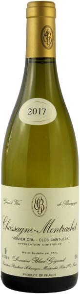 Domaine Blain-Gagnard - 2017 Chassagne-Montrachet Blanc 1er Cru Clos Saint Jean
