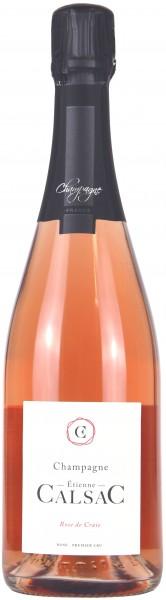 Champagne Etienne Calsac - Champagne Rosé 'Rosé de Craie'