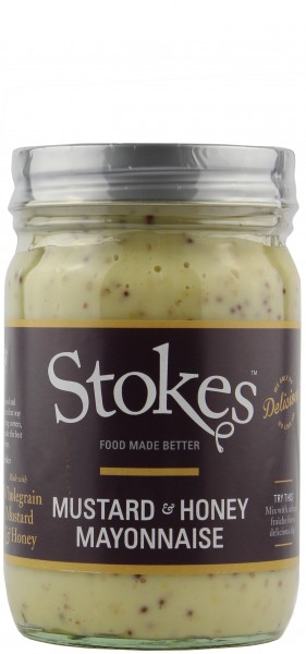 Stokes Sauces - Mustard & Honey Mayonnaise 360 ml