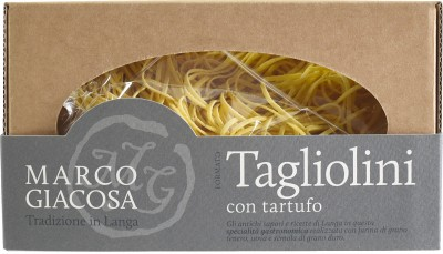 Pasta Marco Giacosa - Tagliolini mit schwarzen Trüffeln 250 g