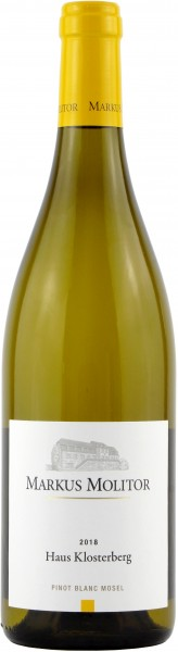 Weingut Markus Molitor - 2018 Pinot Blanc Haus Klosterberg