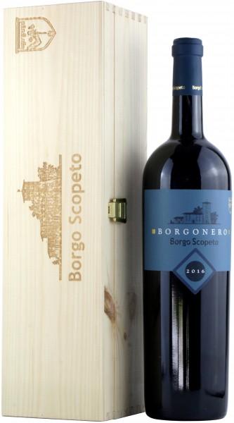 Borgo Scopeto - 2016 Borgonero Magnum mit Holzkiste