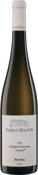 Weingut Markus Molitor - 2010 Riesling Auslese ** trocken Zeltinger Sonnenuhr