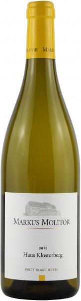 Weingut Markus Molitor - 2018 Pinot Blanc trocken Haus Klosterberg