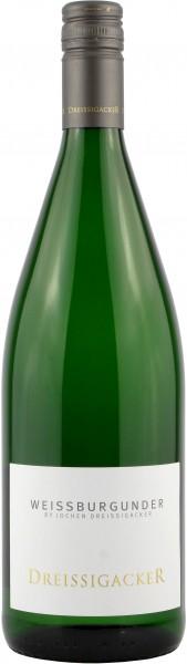 Weingut Dreissigacker - 2018 Weißburgunder trocken Literflasche