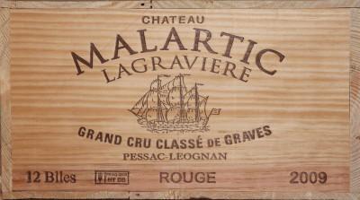 Château Malartic-Lagravière - 2009 Château Malartic-Lagravière Grand Cru Classé