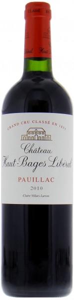 Château Haut-Bages Libéral - 2010 Château Haut-Bages Libéral Grand Cru Classé