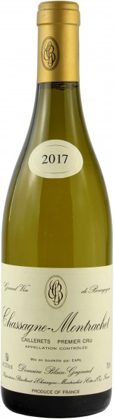 Domaine Blain-Gagnard - 2017 Chassagne-Montrachet Blanc 1er Cru Caillerets