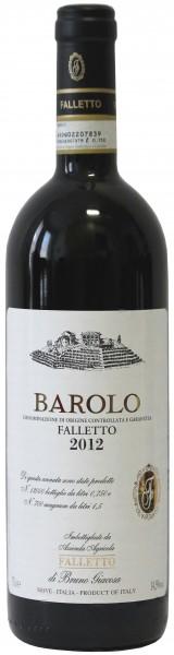 """Az. Agr. Falletto, Bruno Giacosa - 2012 Barolo DOCG """"Faletto"""""""