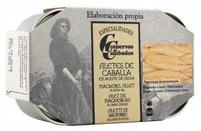 Conservas de Cambados - Makrelenfilet in Olivenöl 115 g