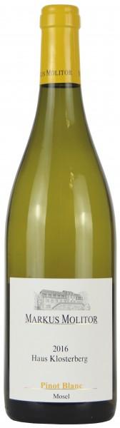 Weingut Markus Molitor - 2016 Pinot Blanc trocken Haus Klosterberg