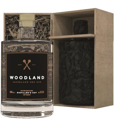 Sauerland Distillers GmbH - WOODLAND, Navy Strength Sauerland Dry Gin, Sonderedition
