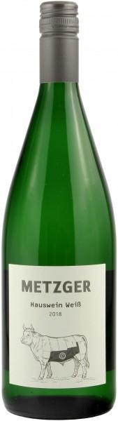 Weingut Metzger - 2018 Hauswein Weiß Literflasche