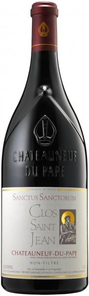 Clos Saint Jean - 2016 Châteauneuf-du-Pape rouge 'Sanctus Sanctorum' Magnum