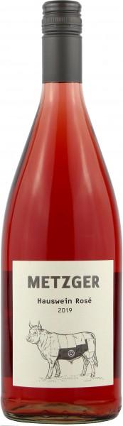 Weingut Metzger - 2019 Hauswein Rosé -C- Literflasche