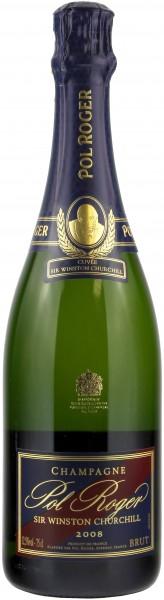 Champagne Pol Roger - 2008 Cuvée 'Sir Winston Churchill' mit 'Coffret'